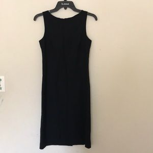 Theory Sleeveless Black Dress